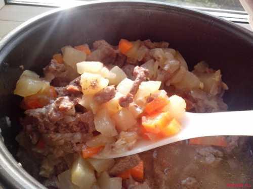 говядина в сметанном соусе